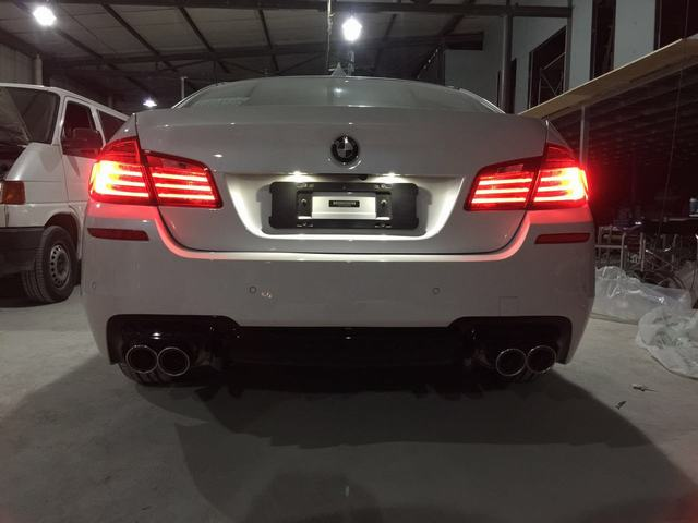 BMW 525LI WITH CENDE Exhaust